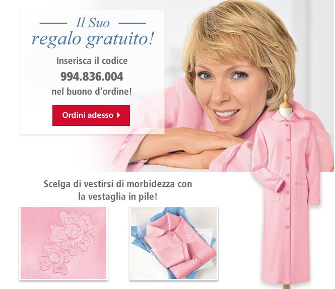 Moda Vilona Ti Regala La Vestaglia In Pile Il Forum Di Dimmicosacerchi