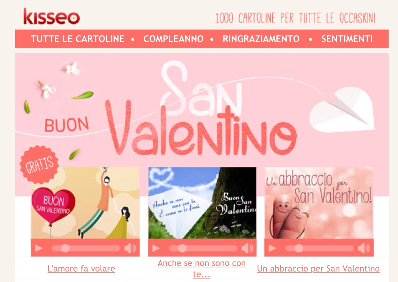 Kisseo Cartoline Virtuali Gratis Il Forum Di Dimmicosacerchi
