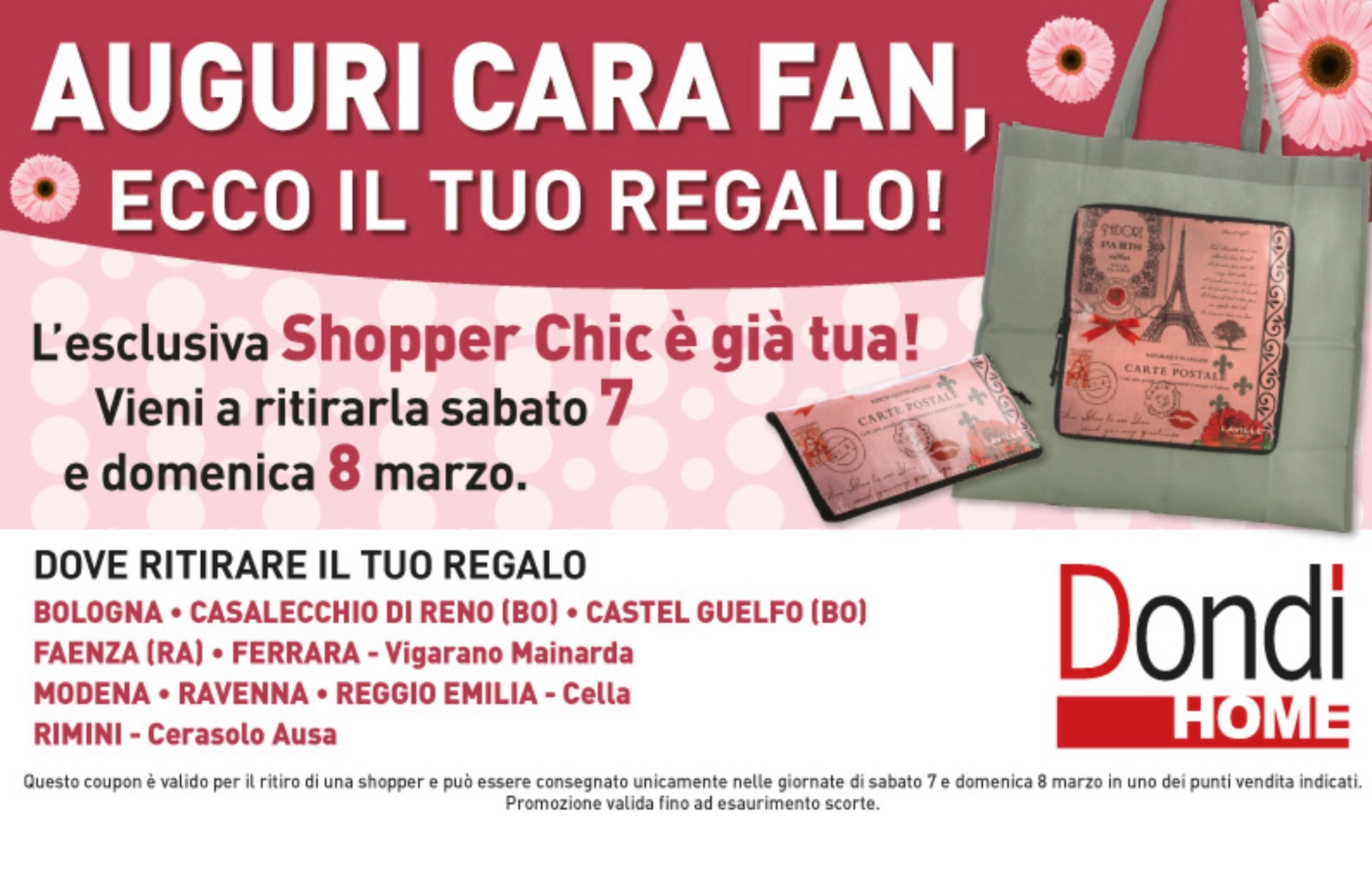 Scaduto - Shopper omaggio da Dondi Salotti | Il Forum di DimmiCosaCerchi