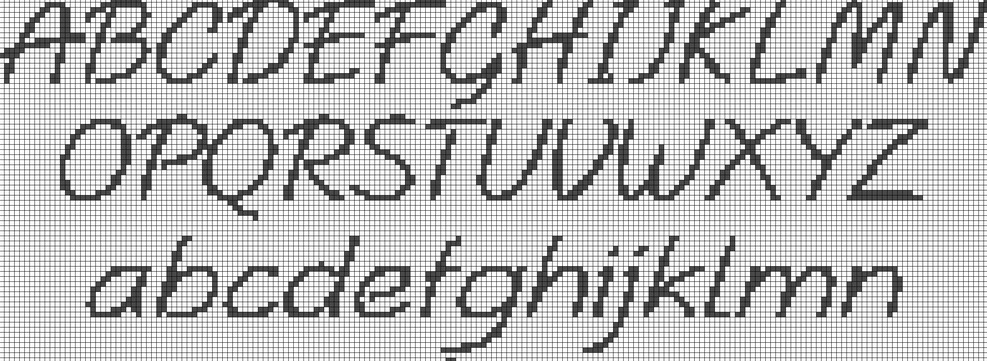 Schemi punto croce da stampare gratis jv96 regardsdefemmes for Ricamo punto croce alfabeto