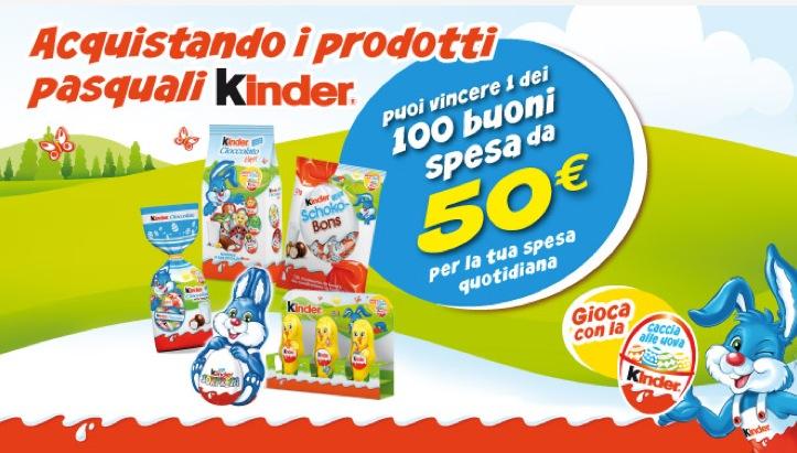 Scaduto Con I Prodotti Di Pasqua Kinder Vinci Buoni Spesa 2703